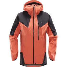 Haglöfs L.I.M Touring PROOF Jacket Dame coral pink/slate